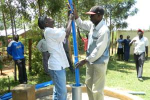 The Water Project: Ebubambula Primary School -