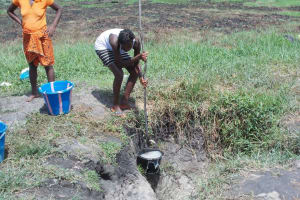 The Water Project: Malokoh Community Well Rehabilitation -