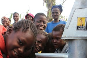 The Water Project: Kpai Bagane Community -