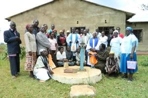 The Water Project: St Emmanuel Kapng'etuny Church -
