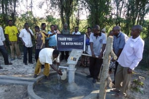 The Water Project: Ekikagate II Community -