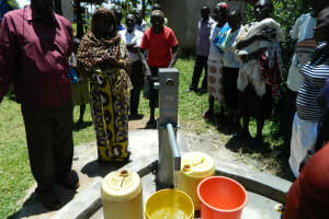 The Water Project: Lukongo Police Patrol Base -