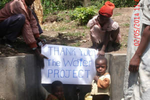 The Water Project: Emusaka Community, Furi Spring -