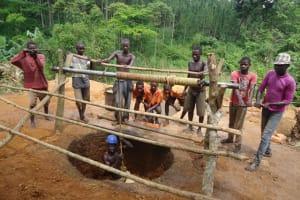 The Water Project: Kihaguzi Mbiise Village -