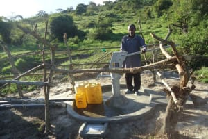 The Water Project: Kacwangobe Community -