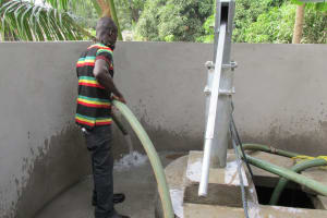 The Water Project: Targrin Community Well Rehabilitation -
