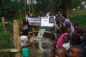 The Water Project: Byanamira B Community -