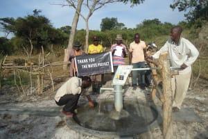 The Water Project: Kyenturegye Community -