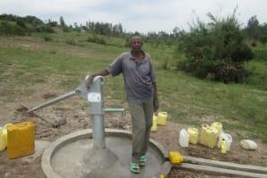 The Water Project: Nyarusange II Village -