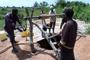The Water Project: Kigaya village -