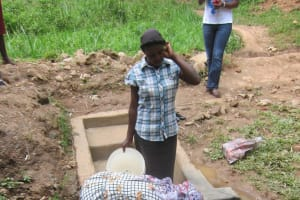 The Water Project: Bugondi/Lwenya Community, Bugondi Spring -