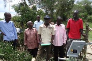 The Water Project: Kyabagyeni II Village -