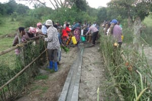 The Water Project: Rwozi Village -