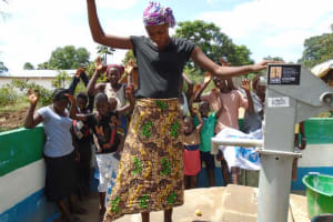 The Water Project: Pepel Corner Well Rehabilitation Project -
