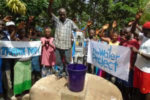 The Water Project: Mayemi Bana Well Rehabilitation Project -