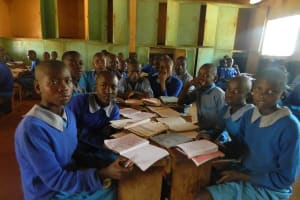 The Water Project: Shisango Secondary School -  Shisango Primary School Pupils