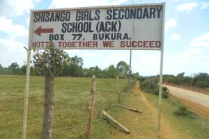 The Water Project: Shisango Secondary School -  Sign Post