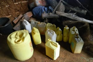 The Water Project: Shisango Secondary School -  Students Containers For Collecting Water From Their Homes