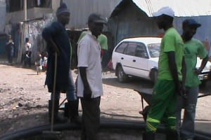 The Water Project: Mashimoni Water and Sanitation Project - 3 -
