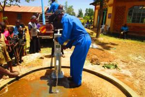 The Water Project: Mayungu Church Of God -
