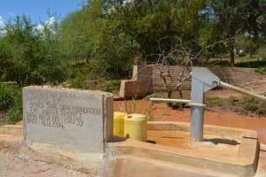 The Water Project: Isunguluni Mutomo Community C -