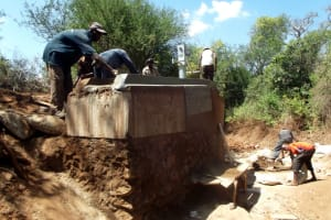 The Water Project: Wuumisyo Wa Miangeni Community A -