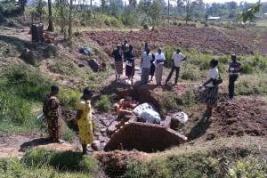 The Water Project: Bugondi Community, Luseka Spring -