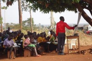 The Water Project: LAMVORONGUR COMMUNITY SCHOOL BOREHOLE -