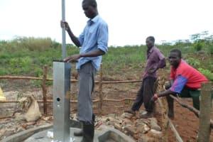 The Water Project: Kigumba Kyamugwera Hand Dug Well -