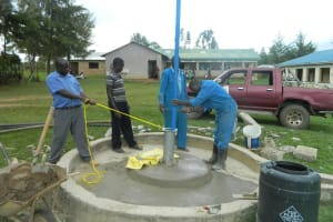 The Water Project: Chombel Health Centre -