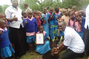 The Water Project: Elukho Primary School -