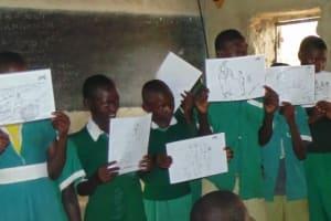 The Water Project: Kalenda Primary School Rehabilitation -