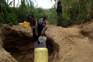 The Water Project: Kiluta Self Help Group Shallow Well Project -