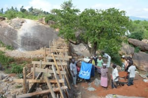 The Water Project: Kithuani Self Help Group Sand Dam -