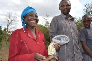 The Water Project: Matoma Nyumba Kumi Sand Dam -