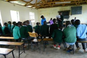 The Water Project: Chepsaita Secondary School BoreHole -