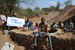 The Water Project: Matoma Nyuma Kumi Shallow Well Project -