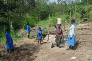 The Water Project: Muraka Community, Aliuba Spring -
