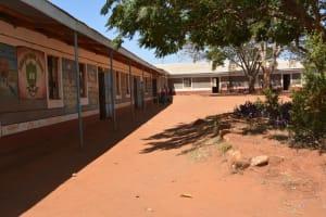 The Water Project: Kiima Kiu Primary School Rainwater Harvesting Project -