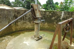 The Water Project: Masoila Gateway Baptist Church and Primary School Well Rehabilitation -