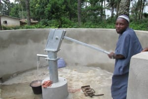 The Water Project: Madina Village New Well Project -