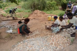 The Water Project: Twone Mbee Muselele I Shallow Well Project -