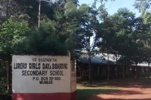 The Water Project: St. Elizabeth Lureko Girls School Well Rehabilitation -