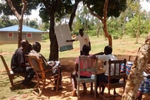 The Water Project: Esitundu Community, Amboye Spring -