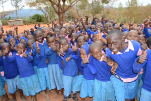 The Water Project: Malaa Primary School Rainwater Harvesting and Sanitation Project -