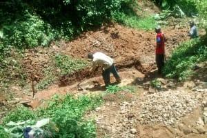 The Water Project: Machina Community, Petro Maloba Spring -