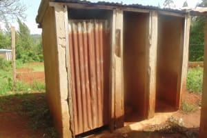 The Water Project: Ebwiranyi Primary School Rainwater Harvesting and VIP Latrine Project -