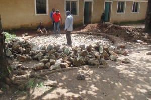 The Water Project: Handidi Primary School Rainwater Harvesting and Ecosan Latrines -