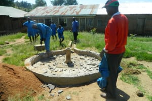 The Water Project: Malekha Primary School Well Rehabilitation Project -