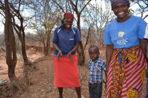 The Water Project: Kwa Mutunga Shallow Well Project -